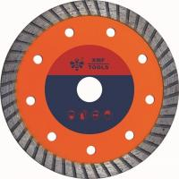 Buy cheap Hot Pressed Mid Turbo Diamond Saw Blade  Granite Cutting Marble 5 7 Inches product