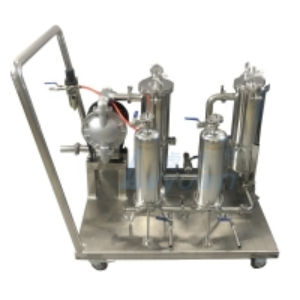 Buy cheap 99.5% Beer Milk 65kg 180*810mm bag Liquid Filtration Machine product