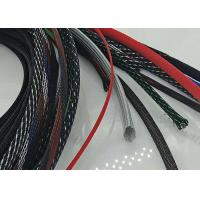 Abrasive Resistance Braided Cable Sheath Customer Logo With Smooth Surface