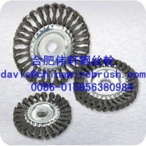 Buy cheap La torsion a noué des brosses de roue de fil product