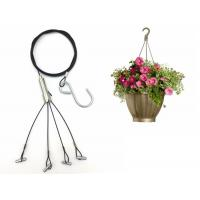 Buy cheap 1.5mm Four Foot Steel wire Hanging Kits For Hanging Planters/Flower Pot product