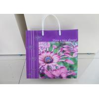 China Die Cut Handle Plastic Gift Bags Packing PersonalisedFor Shopping wholesale