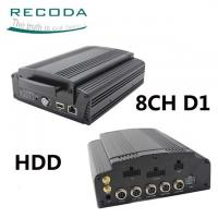 Buy cheap Hard Disk Mobile HD DVR 3G / 4G GPS Tracking Support Live View Video For Bus product