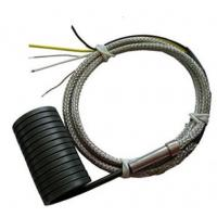 Buy cheap Spring coil Heater 4*2mm JN-CH7 250W with K/J thermcouple Fiberglass wire product