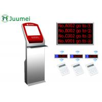 Buy cheap Digital Signage Queue Ticket Dispenser Machine Led Counter Display product