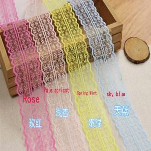 décoration de couture de tissu d'équilibre de dentelle brodée par DIY de bande de ruban de dentelle de 45cm