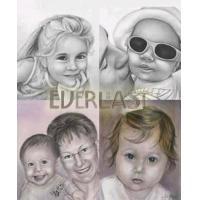 China Family Photoes To Oil Painting on sale