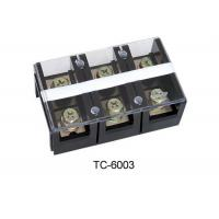 Buy cheap 2p 3p 4p TC Electrical Plastic Terminal Block , Weidmuller Terminal Block 600V  60~600A product