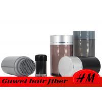 Quality Long Lasting Herbal Hair Fiber Powder , Cotton Blonde Hair Fibers Washable for sale