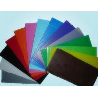Buy cheap Reusable Non - Toxic 6mm 10mm PP Hollow Sheet Corrugated Plastic Sheets 4x8 product