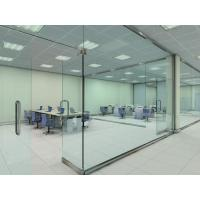 Buy cheap Soundproof Glass Partition Walls Laminated For Shopping Mall product