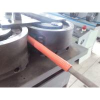 Buy cheap PVC Pipe Manufacturing Machine , Single Wall Plastic Pipe Extrusion Line product