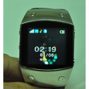 Buy cheap Black / Brown K12 Quad band Single SIM with FM radio, Bluetooth Wrist Watch Phone product