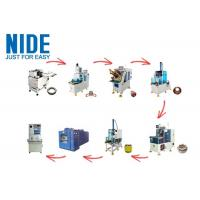 Buy cheap Noiseless Fully Automatic Motor Production Line 0~300mm Stator Dia High Performance product