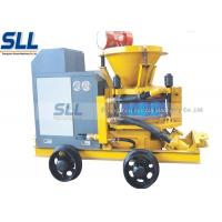China Mix Refractory Concrete Shotcrete Machine 200m Convery Distance Slope Reinforcement on sale