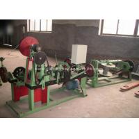 Buy cheap Automatic Barbed Wire Making Machine , PVC Coated Barbed Wire Fencing Machine product