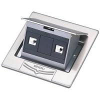 Buy cheap DCT-V28/PB Stainless steel Pop up floor socket box product