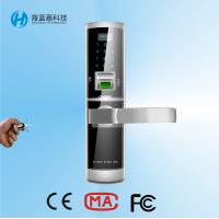 Buy cheap High security sliver zinc alloy safe keyless door locks for home product