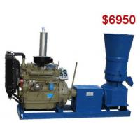 Buy cheap AZSPLM400 Flat Die Pellet Mill with Small Capacity for Home Use product