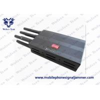 China Full Frequency Handheld Signal Jammer Cell Phone 2G 3G 4G High Tech Rubber Antennas on sale