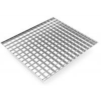 Square Stainless Steel Bar Grating 19-DTS-4 Dovetail Pressure Locked