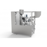 Buy cheap Electric Driven Liquid Ointment Filling And Sealing Machine product