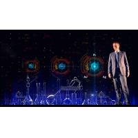 Buy cheap Pepper's Ghost Holographic Projection System Hologram 3D Display For Event product