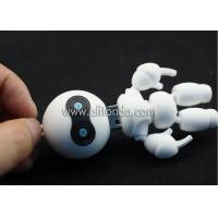 Buy cheap Soft PVC 3d robot shape USB flash driver custom 3d USB flash disk for promotion product