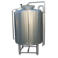 Buy cheap 2000L Stainless 304 Cold Liquor Tank Dimple Plate Jacket For Brewing System from wholesalers