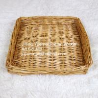 China 2016 wicker tray bread tray handmade harmless candy tray on sale