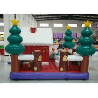 Buy cheap Party Blow Up Christmas Tree Decoration , Giant Christmas Inflatables Bouncer House product