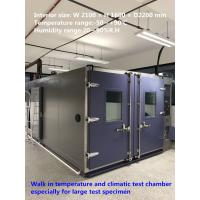 China High Reliability Temperature And Humidity Walk-In Chamber For Large Test Specimens wholesale