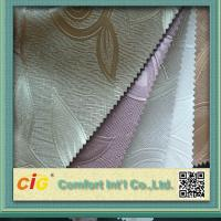 China High Grade PVC Synthetic Leather , PVC Glitter Leathers Home Textile on sale