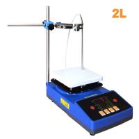 Buy cheap Laboratory High Quality Temperature Cheap Magnetic Stirrer with Heating Hot Plate product