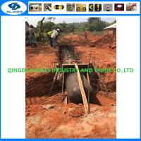 sourth africa pneumatic tubular form for drain culvert sewage concrete pipe construction