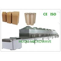 Buy cheap Paer Tube / Kraft Paper Bag Microwave Wood Drying Machine CE Approval product