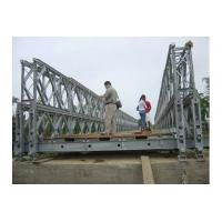 Buy cheap Puente de Bailey de acero modificado para requisitos particulares de la estabilidad de la cubierta de la madera/puente de acero portátil CB100, CB200 from wholesalers