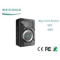 Buy cheap Big Recording Button IP 67 Police Wearing Body Cameras With Gps Wifi Optional product