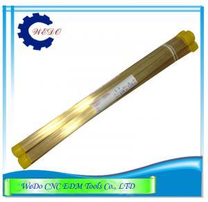 1.0x400mmL dobram a tubulação do canal EDM Eletrode/tubo de bronze para a máquina de perfuração de EDM