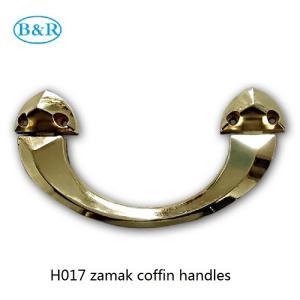 Buy cheap Zamak Coffin Accessories Herrajes Para Ataudes H017 Rocker Casket Handles Size 22.5 * 11.5 Cm product