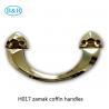 Buy cheap Zamak Coffin Accessories Herrajes Para Ataudes H017 Rocker Casket Handles Size from wholesalers