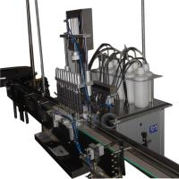 Buy cheap Semi-automatic can filling machine production line for packing granule product