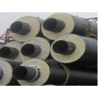 Buy cheap Black PU Foam Thermal Insulated Steel Pipe A53 A , B For Petroleum , Thick Wall product