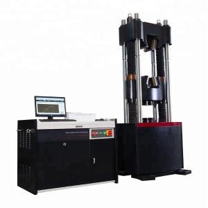 China ASTM E8 Steel Servo Hydraulic Universal Testing Machine 300KN - 2000kN on sale