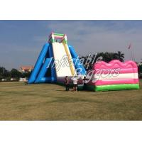 Buy cheap Largest Inflatable Backyard Water Slide Playground Game , 100lbs - 5000lbs product
