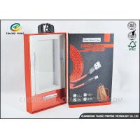 Rigid Cardboard Product Packaging Boxes Die Cutting Finishing With PVC Window
