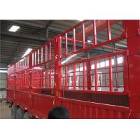 Quality stake / bulk fence transport cargo semi trailer / store house bar semi trailer for sale