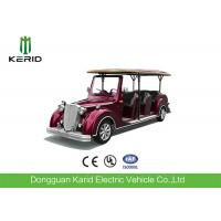 Buy cheap 48V DC Motor Electric Classic Cars 8 Person Old Golf Carts For VIP Reception product