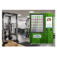 Buy cheap Public Salad Jar Vending Machine With Conveyor System For Gym University product