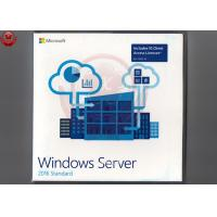 Buy cheap 64 Bit Full Version Windows Server 2016 OEM DVD COA Sticker Windows Server 2016 Os product